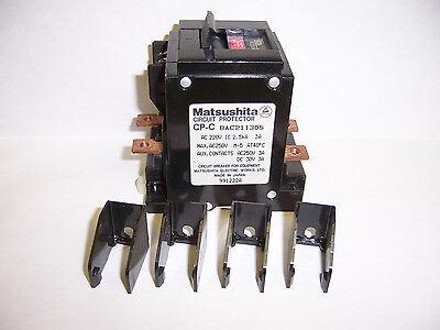 MATSUSHITA CIRCUIT PROTECTOR BAC101305 CP-C C10 M-5 1-POLE 1P 220 VAC 3 AMP A 3A