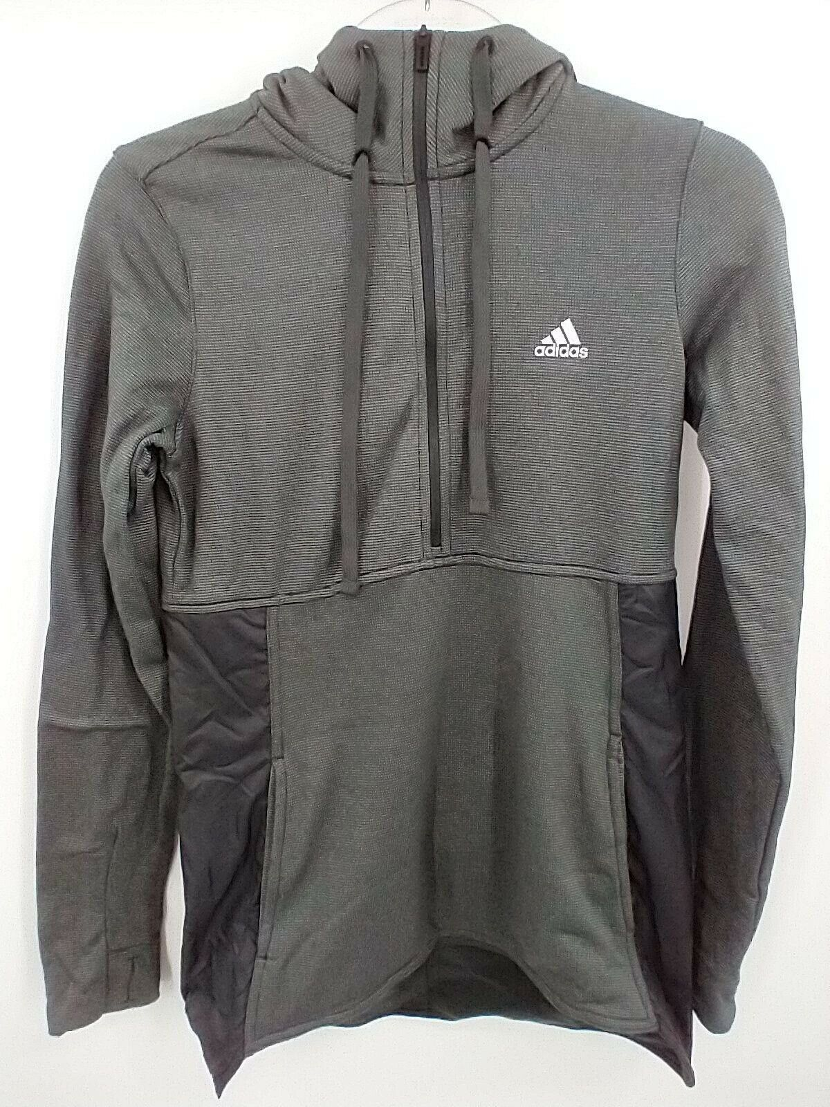 Adidas Women's Climawarm Hoodie Small Black BP6920 NEW