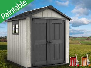 keter oakland 757 garden shed resin x. Black Bedroom Furniture Sets. Home Design Ideas