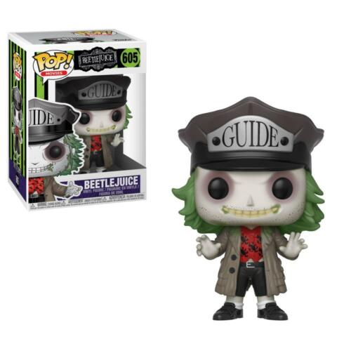 Beetlejuice 605 with Hat NEW!! SUBITO DISPONIBILE! Funko POP