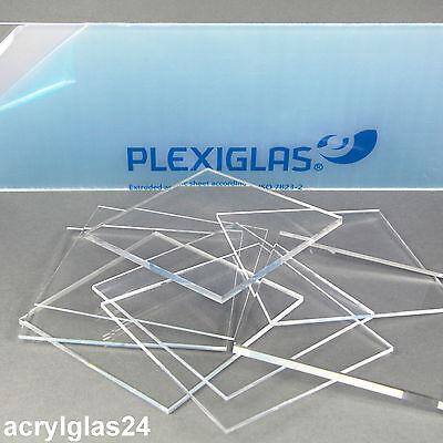 + PLEXIGLAS ® ACRYLGLAS ALLE GRÖßEN STÄRKEN ZUSCHNITT GLAS KLAR XT PLATTE NEU !!