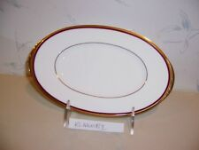 NEW Noritake GOLDEN TRIBUTE Butter & Relish Tray (Gravy Liner Dish) - NEW IN BOX