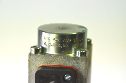 Hydraulik Ventilblock AP151 mit KTS P45 A00 Magnetventil? 12VDC 2,25A 3,5 Ohm