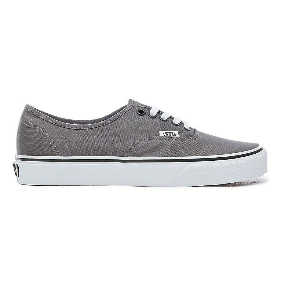 VANS AUTHENTIC PEWTER Gris Noir TRAINERS