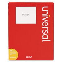 Universal Laser Printer Permanent Labels 3 1/3 X 4 White 600/box 80108 on sale