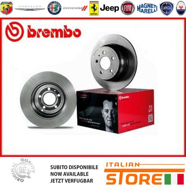 Set 2 Piezas Audi A4 A5 A6 A7 Q5 Discos de Freno Traseros Brembo 08.A759.10