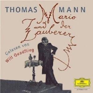 WILL-QUADFLIEG-MARIO-UND-DER-ZAUBERER-2-CD-NEW