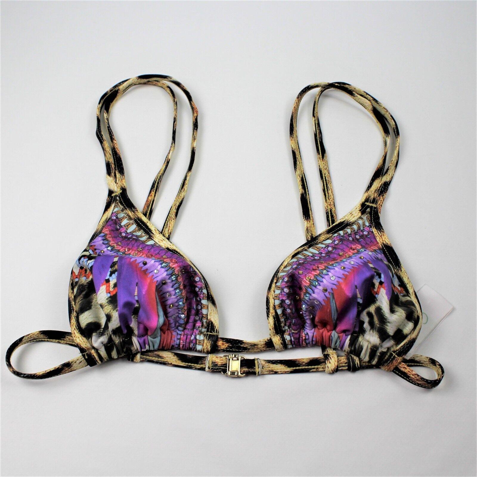 Camilla Franks Triangle Bikini Top Kingdom Call Womans Sz. US 4  AU 8