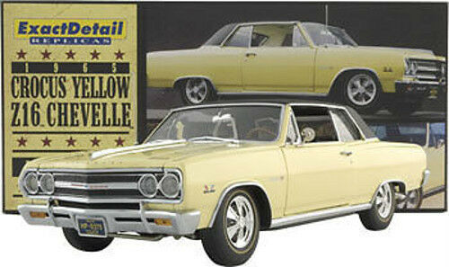 1:18 exact detail 1965 Chevelle z-16 Crocus giallo 1/996