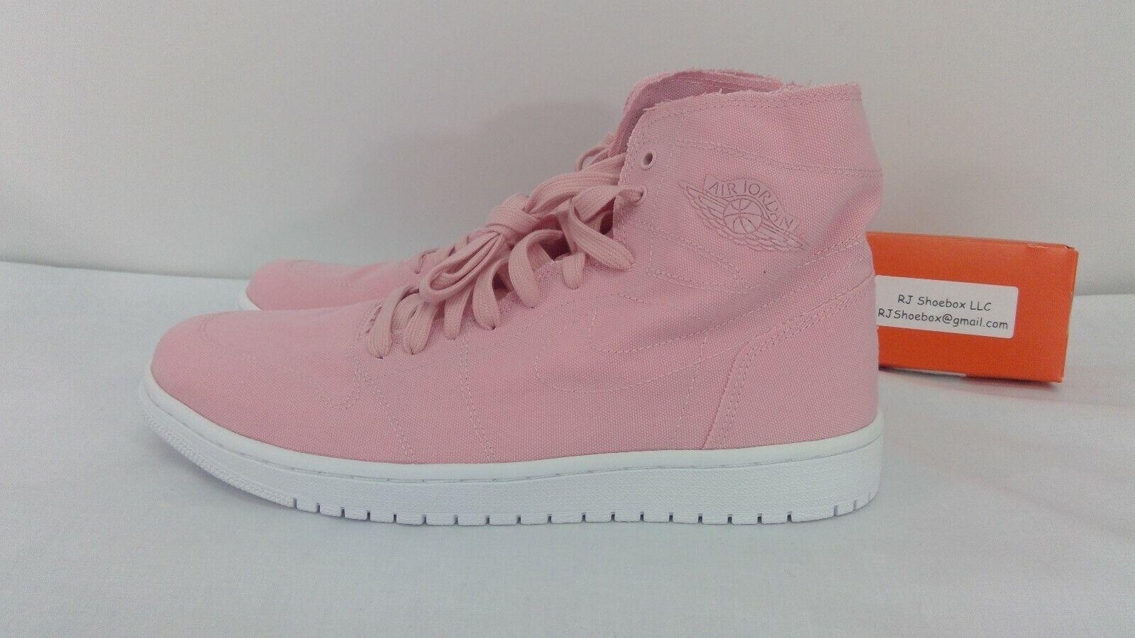 Nike Air Jordan 1 Retro High Decon Pink BNIB 867338-620 Mens Size 10.5