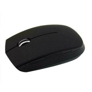 Black Silent Mini Wireless Bluetooth Mouse USB Rechargeable For Laptop J9N3
