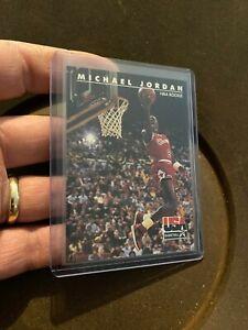 Michael-Jordan-1992-Skybox-Rookie-38-Chicago-Bulls-USA-Basketball-NBA-ICONIC-NR