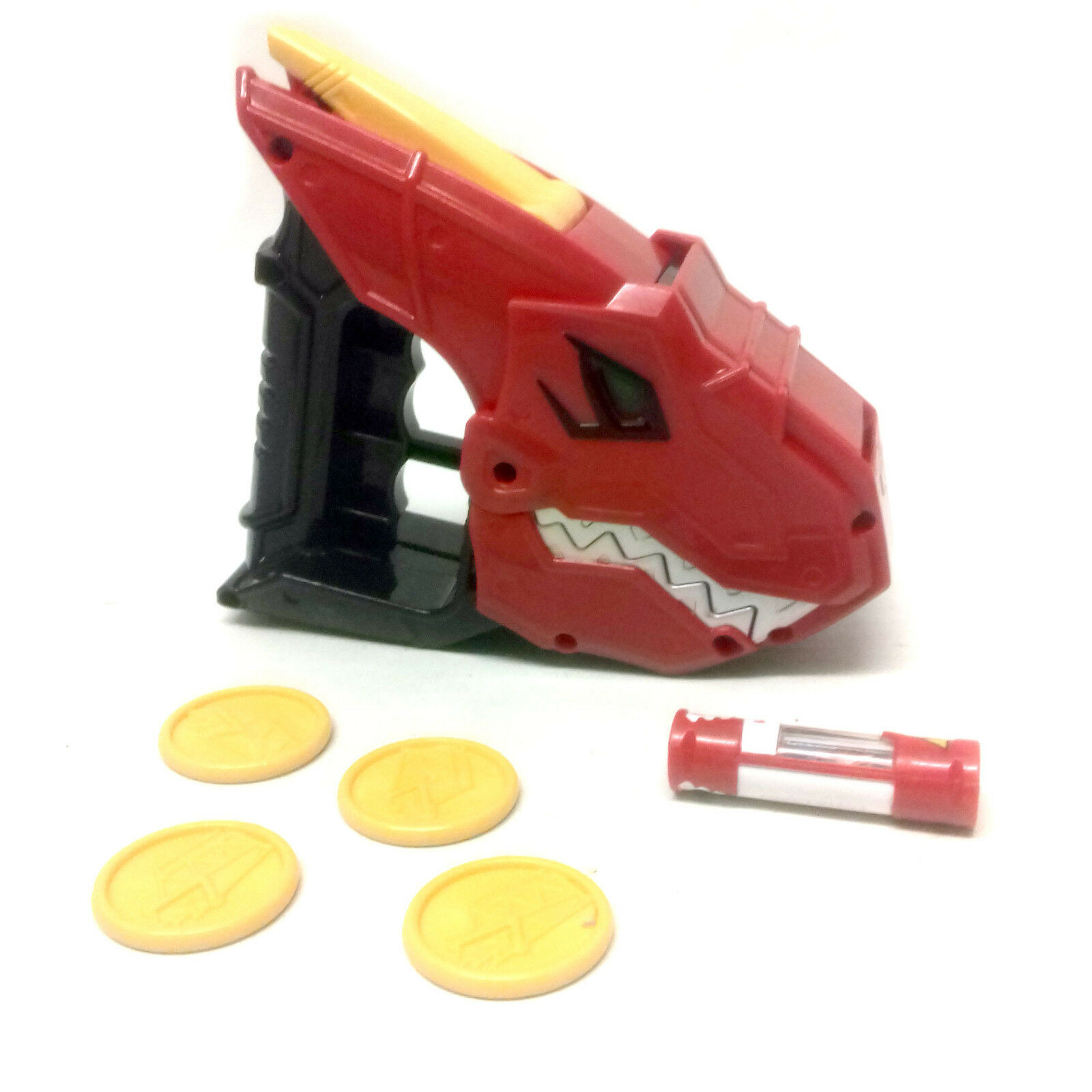 MMPR Power Rangers Dino Charge Roleplay Weapon T- Rex Launcher set , cosplay