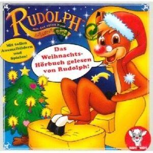 RUDOLPH-MIT-DER-ROTEN-NASE-RUDOLPH-WEIHNACHTS-HORBUCH-CD-NEU
