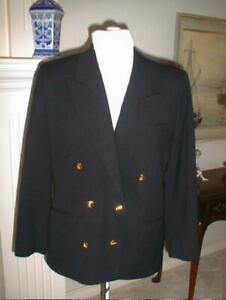 Austin Reed Petite Women S Black Blazer Jacket 16 Ebay