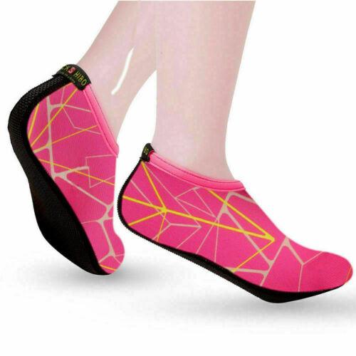 Men Water Shoes Barefoot Aqua Socks Quick-Dry Beach Swim Sports Exercise Slip On