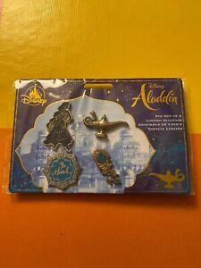 Set-Pins-Aladdin-Disneyland-Disney-Limited-Edition-Dlp