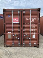 Used 40 Dry Van Steel Storage Container Shipping Cargo Conex Seabox Long Beach