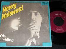 HENRY KOTOWSKI Oh, Liebling & Viele Wege nach Rom / DDR SP 1974 AMIGA 455995