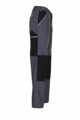 Planam Canvas 320 Herren Bundhose grau schwarz Modell 2123