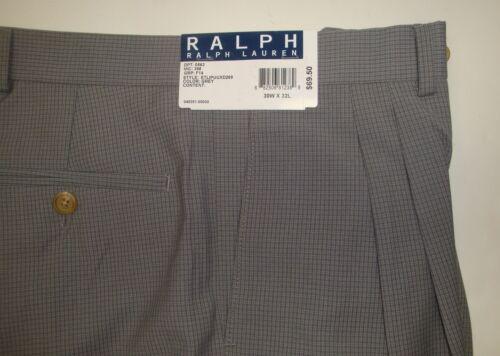 NWT $69 POLO RALPH LAUREN DRESS PANTS MENS PLEAT WAIST SZ 30 31  32 X 32 NEW