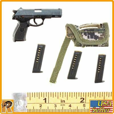 1//6 Scale QSZ92 Pistol Set KADHobby Action Figures Chinese Peacekeepers