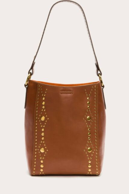 Rust NWT Frye DB479 Harness Stud Bucket Bag
