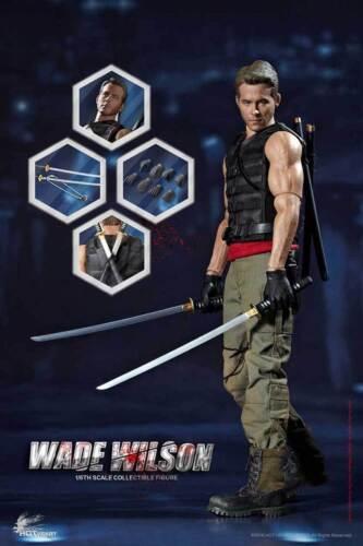 Deadpoo Hot Heart 1//6 FD003 Wade Warrior Wilson Movie Collectible Figure  Hottoy