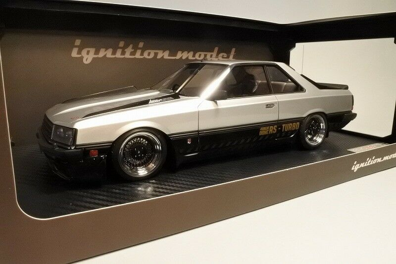 Nissan Skyline 2000 Rs-Turbo (R30) argent Ignition Model 1 18  IG0985