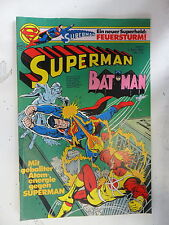 1 x Comic  Superman Batman  Nr.7  mit Sammel Ecke  (Apr 1980)    Z. 2