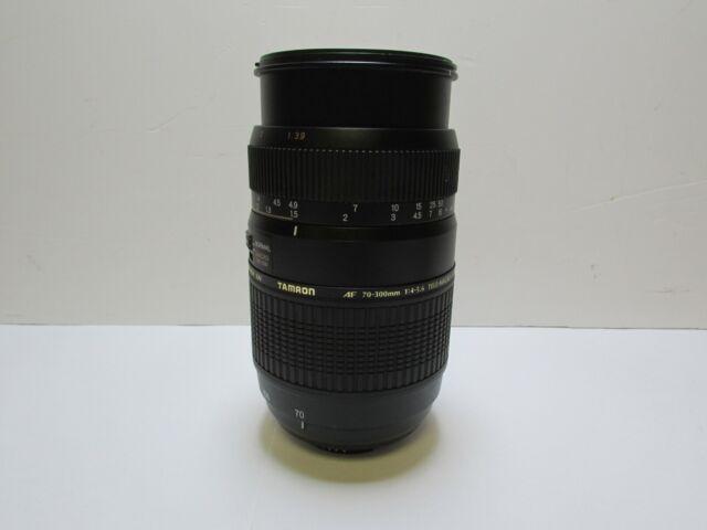 Tamron AF 70-300mm F/4-5.6 Di LD Macro Lens for Nikon - Black