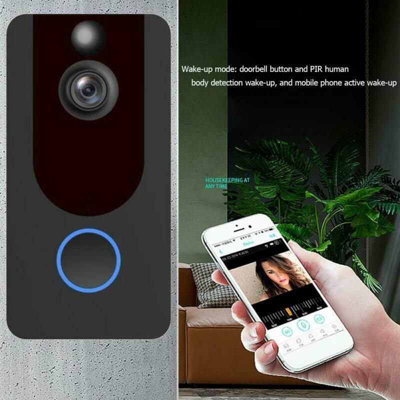 Bell Camera Wireless Door Ring Smart WiFi Video Home Phone I