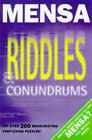 Mensa Riddles and Conundrums by Robert Allen (Paperback, 1997)