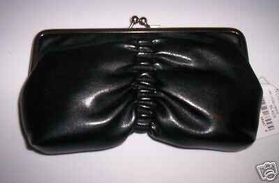 Women/'s Black CLUTCH WALLET//Coin Purse by Nordstrom