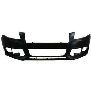 2009-2012 Audi A4 Bumper Front Primed Without S Line/Washer Canada Preview