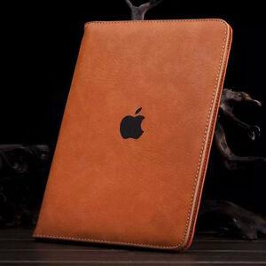 Funda-Carcasa-Para-iPad-2-3-4-5-6-Air-Mini-Pro-PU-Cuero-Soporte-Antichoque-Case