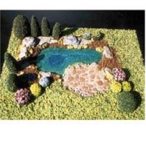 bambolahouse Miniature Pond Kit - 1 12  Scale  si affrettò a vedere