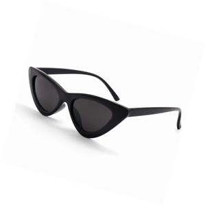 bf5d06ae98 Image is loading YOSHYA-Retro-Vintage-Narrow-Cat-Eye-Sunglasses-for-