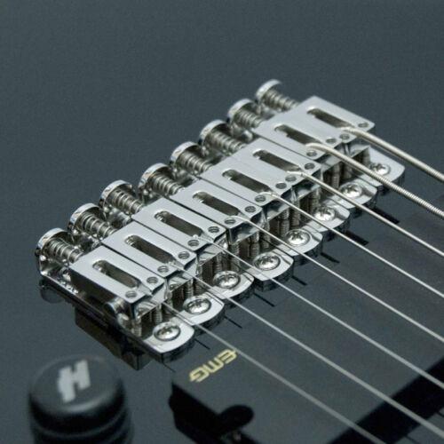 Hipshot Solo STAINLESS STEEL Single String Guitar Bridge w// mounting screws