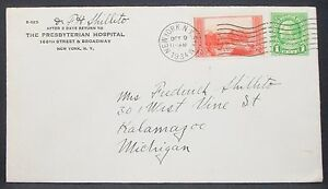 US-Adv-Cover-Presbyterian-Hospital-Ny-Grand-Canyon-Stamp-2c-USA-Letter-H-10895