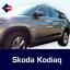 SKODA kodiaq 5D protectores de puerta del frotamiento Tiras Protección Lateral Molduras Kit