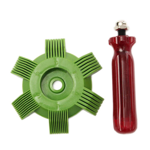 HVAC//Auto radiateur fin peigne redresseur air conditionneur /& condenseurs 8-1 Jb