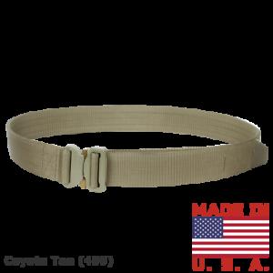 Condor Outdoor Cobra Tactical Belt (Coyote Tan  S) 33323