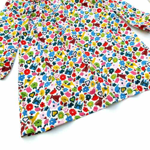 NEW Ex Baby Boden Multi Floral Dress Age 3-24 Months 2-4 Years RRP £22