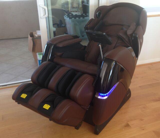 Osaki OS 3D Pro Cyber 2.0 3D Zero Gravity Massage Chair Recliner (Brown)