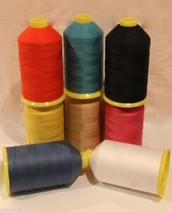 Polyester-Cotton-Heavy-duty-sewing-machine-thread-M36-upholstery-1000m-amp-4000m