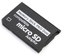 Microsd Micro Sdhc To Ms Pro Duo Memory Stick Adapter