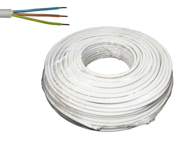 50m NYM-J 3 x 1,5 mm² VDE Stromkabel Kabel Mantelleitung Elektroleitung Kupfer
