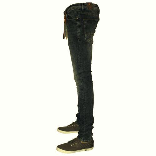 "30/"" DML Super Skinny Stretch Jeans Coton teinte laver tailles 32/"""
