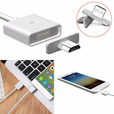 Magnetic Adapter Micro USB Charging Cable Charger for Android Samsung LG HTC Hot